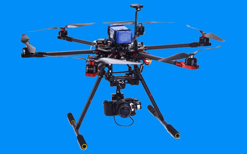 Sixcopter drone